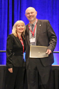 New SIOP Fellow Bernardo Ferdman and SIOP President Tammy Allen